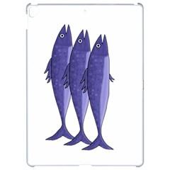 Mackerel    Purple Apple Ipad Pro 12 9   Hardshell Case by Valentinaart