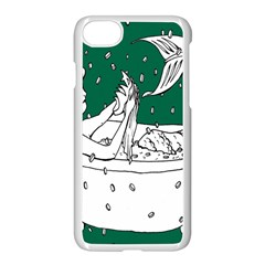Green Mermaid Apple Iphone 7 Seamless Case (white)
