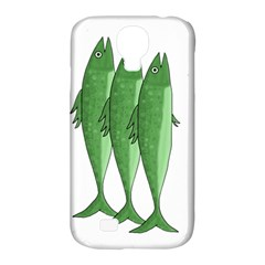 Mackerel   Green Samsung Galaxy S4 Classic Hardshell Case (pc+silicone) by Valentinaart