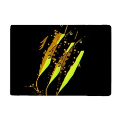 Yellow Fish Apple Ipad Mini Flip Case by Valentinaart