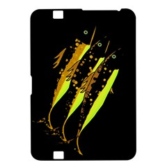 Yellow Fish Kindle Fire Hd 8 9  by Valentinaart