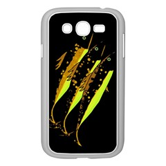 Yellow Fish Samsung Galaxy Grand Duos I9082 Case (white) by Valentinaart