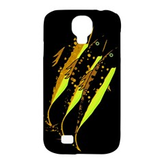 Yellow Fish Samsung Galaxy S4 Classic Hardshell Case (pc+silicone) by Valentinaart