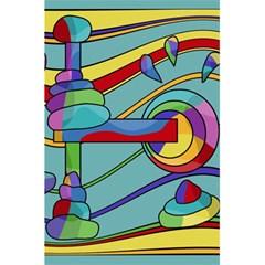 Abstract Machine 5 5  X 8 5  Notebooks by Valentinaart