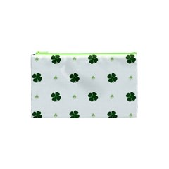 Green Leaf Cosmetic Bag (xs) by AnjaniArt