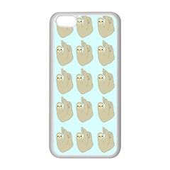Kukang Animals Apple Iphone 5c Seamless Case (white)