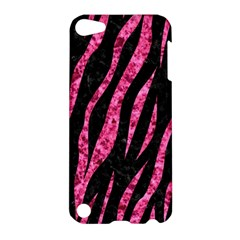 Skin3 Black Marble & Pink Marble Apple Ipod Touch 5 Hardshell Case by trendistuff