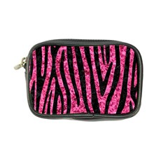 Skin4 Black Marble & Pink Marble Coin Purse by trendistuff