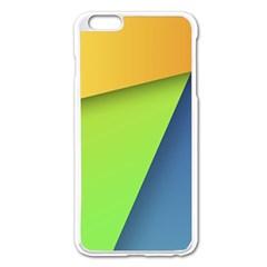 Lock Screen Apple Iphone 6 Plus/6s Plus Enamel White Case by AnjaniArt