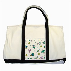 Leaf Two Tone Tote Bag