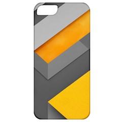Marshmallow Yellow Apple Iphone 5 Classic Hardshell Case by AnjaniArt