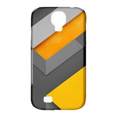 Marshmallow Yellow Samsung Galaxy S4 Classic Hardshell Case (pc+silicone) by AnjaniArt