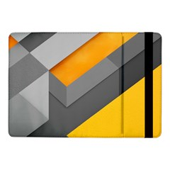 Marshmallow Yellow Samsung Galaxy Tab Pro 10 1  Flip Case by AnjaniArt