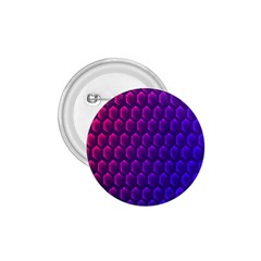 Outstanding Hexagon Blue Purple 1 75  Buttons by AnjaniArt