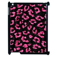 Skin5 Black Marble & Pink Marble (r) Apple Ipad 2 Case (black) by trendistuff
