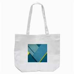 New Bok Blue Tote Bag (white) by AnjaniArt
