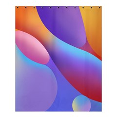 Color Orange Copy Shower Curtain 60  X 72  (medium)  by AnjaniArt