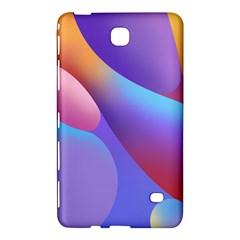 Color Orange Copy Samsung Galaxy Tab 4 (7 ) Hardshell Case  by AnjaniArt