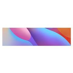 Color Orange Copy Satin Scarf (oblong) by AnjaniArt