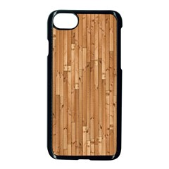 Parquet Floor Apple Iphone 7 Seamless Case (black) by AnjaniArt