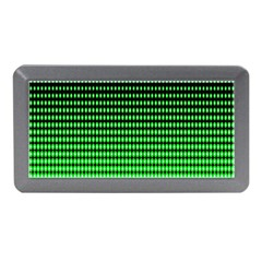 Neon Green And Black Halftone Copy Memory Card Reader (mini) by AnjaniArt