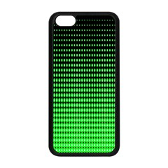 Neon Green And Black Halftone Copy Apple Iphone 5c Seamless Case (black)