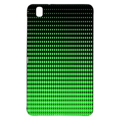 Neon Green And Black Halftone Copy Samsung Galaxy Tab Pro 8 4 Hardshell Case by AnjaniArt