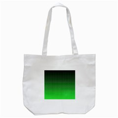 Neon Green And Black Halftone Copy Tote Bag (white) by AnjaniArt