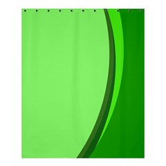 Simple Green Shower Curtain 60  X 72  (medium)