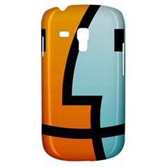 Two Fafe Orange Blue Galaxy S3 Mini by AnjaniArt
