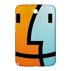 Two Fafe Orange Blue Samsung Galaxy Note 8 0 N5100 Hardshell Case  by AnjaniArt