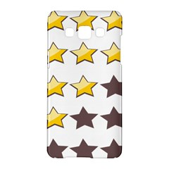 Star Rating Copy Samsung Galaxy A5 Hardshell Case  by AnjaniArt