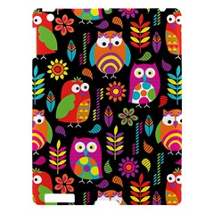 Ultra Soft Owl Apple Ipad 3/4 Hardshell Case by AnjaniArt