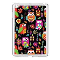 Ultra Soft Owl Apple Ipad Mini Case (white) by AnjaniArt