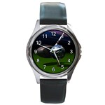 TEE IT UP GOLF WORLD ROUND METAL WATCH
