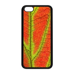 Unique Leaf Apple Iphone 5c Seamless Case (black) by AnjaniArt