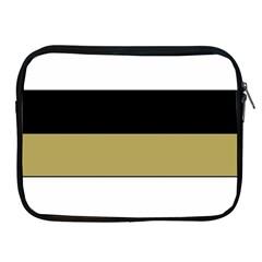 Black Brown Gold White Horizontal Stripes Elegant 8000 Sv Festive Stripe Apple Ipad 2/3/4 Zipper Cases by yoursparklingshop