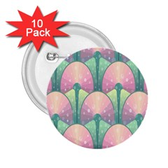 Seamless Pattern Seamless Design 2.25  Buttons (10 pack)  by Zeze