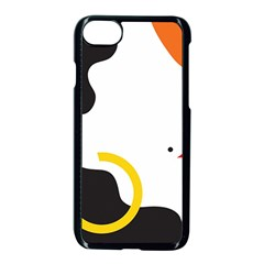 Woman s Face Apple Iphone 7 Seamless Case (black) by AnjaniArt