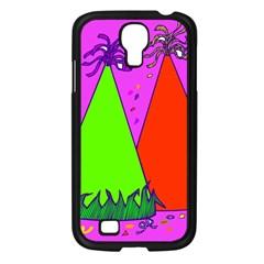 Birthday Hat Party Samsung Galaxy S4 I9500/ I9505 Case (Black)