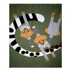 Chetah Animals Shower Curtain 60  X 72  (medium)  by AnjaniArt
