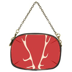Deer Antlers Chain Purses (two Sides)  by AnjaniArt