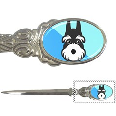 Face Dog Letter Openers by AnjaniArt