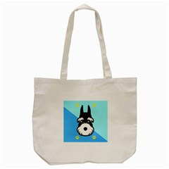 Face Dog Tote Bag (cream)