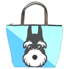 Face Dog Bucket Bags