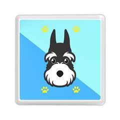Face Dog Memory Card Reader (square)  by AnjaniArt