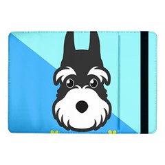 Face Dog Samsung Galaxy Tab Pro 10 1  Flip Case by AnjaniArt