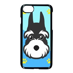 Face Dog Apple Iphone 7 Seamless Case (black) by AnjaniArt