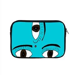 Eyes Three Blue Apple MacBook Pro 15  Zipper Case