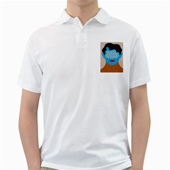 Face Eye Human Golf Shirts